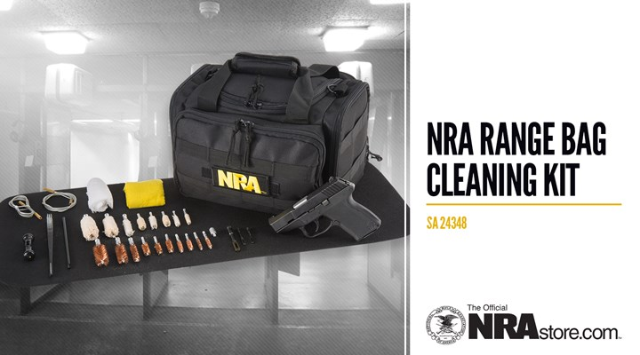 NRA Store Product Highlight: Range Bag Cleaning Kit